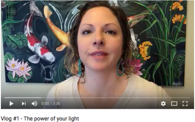Vlog #1 The Power of Your Light