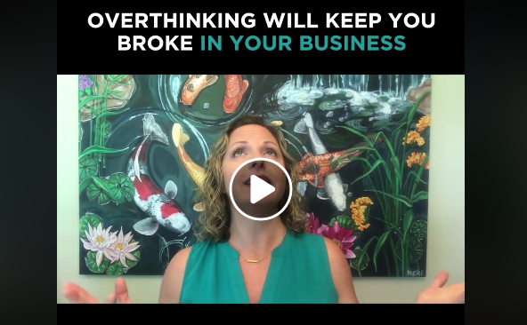 Vlog #6: Overthinking Will Keep You Broke in Your Business!