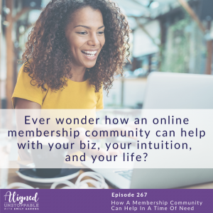How A Membership Community Can Help In A Time Of Need