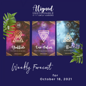 Angels in Your Biz Weekly Forecast October 18